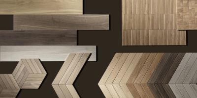 Avvolgente effetto cocooning per Nest, la collezione effetto legno di Fap ceramiche