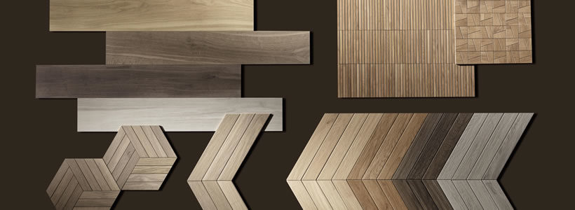 Warming cocoon effect for Nest, the wood-effect collection by Fap ceramiche