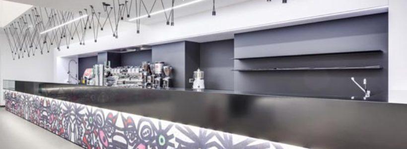 Bar Caffetteria RELAX e CAFFE', Stazione Santa Lucia, Venezia.