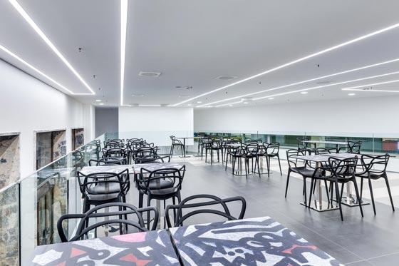Studio Salvati progetto Relax e Caffé Venezia Santa Lucia