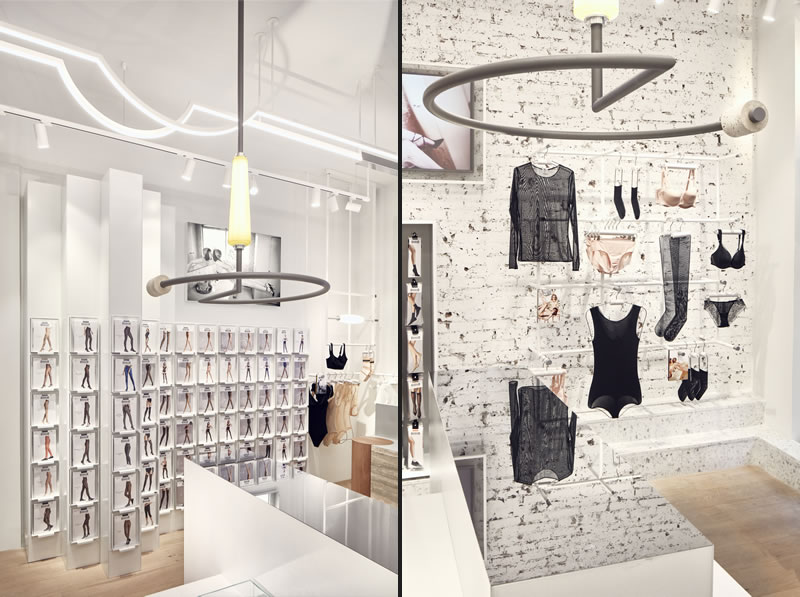 Wolford retail concept by Studio Modijefsky