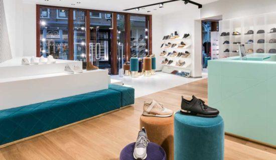 HI-MACS® Emerald nel nuovo flagship store Oblique Men.