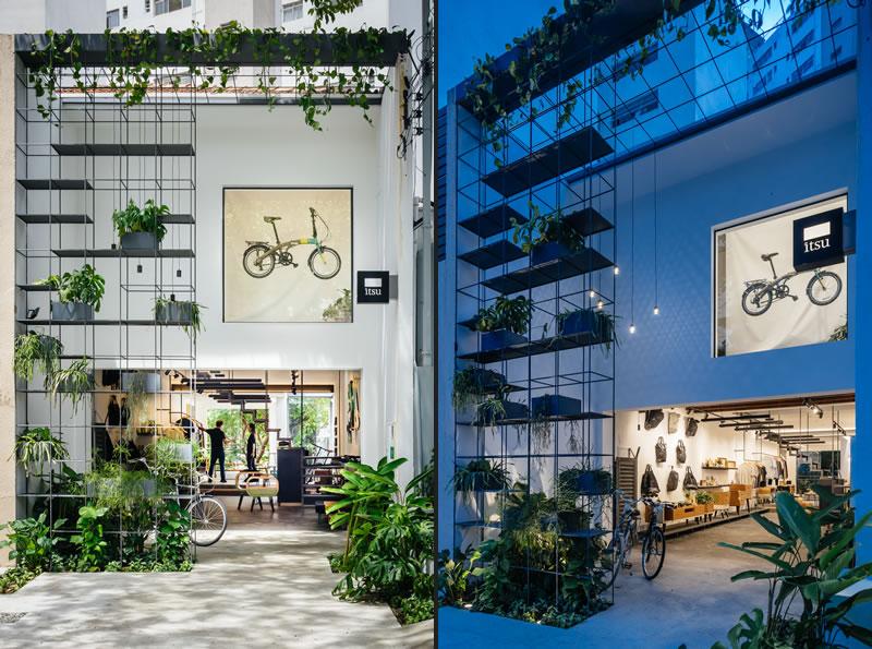 Itsu store progettato dagli architetti brasiliani Terra Tuma