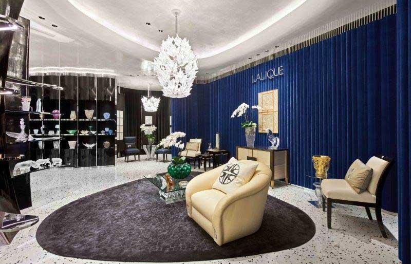 AB Concept designed Lalique flagship store in Shanghai
