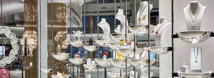 Lalique flagship store in Shanghai designed by AB Concept.