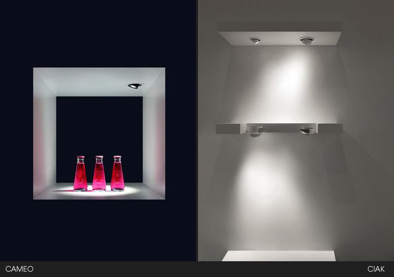 CAMEO e CIAK di L&L Luce&Light