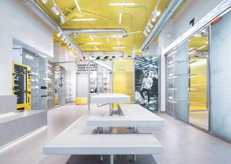 CuldeSac ha progettato il primo flagship Pewter Store