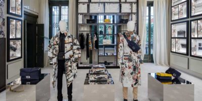 FENDI: un pop-up-store in Via Montenapoleone.