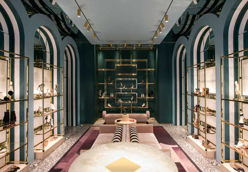 Humbert & Poyet agency retail design project Aquazzura Soho