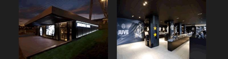 retail branding per il nuovissimo stadio della Juventus