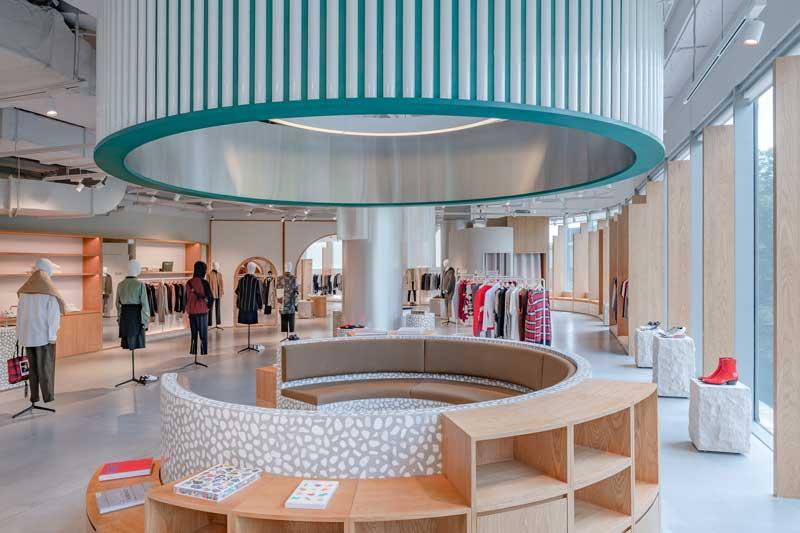 Kokaistudio concept store per Assemble by Réel