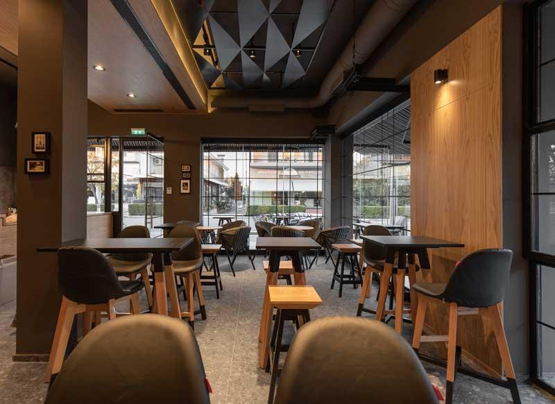 Lab4 architects designed De-Tox Café