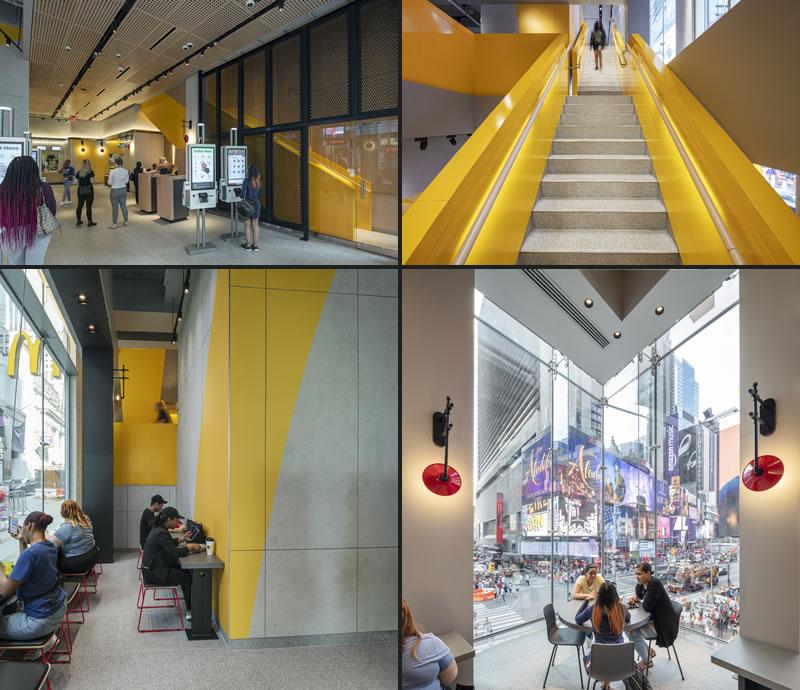 Landini Associates designed McDonald's Times square