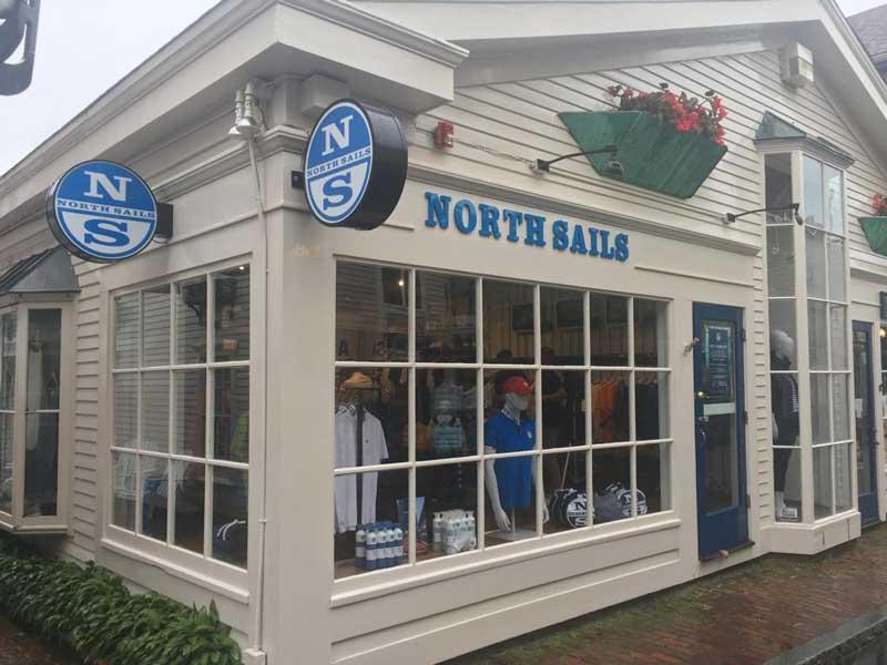 North Sails nuovo store a Newport