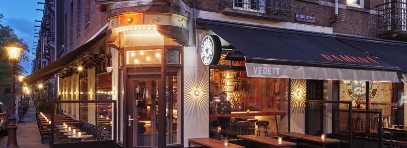 Studio Modijefsky designed the Ramona Restaurant Cafè