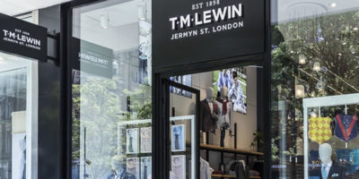 TM LEWIN opens new Concept London Store.