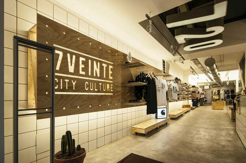 Vitale designed the stunning interior for 7VEINTE