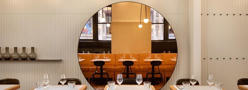BlazysGérard designs the new Dandy restaurant: harmonious simplicity and refinement