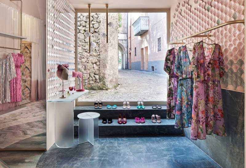 Cristina Celestino boutique The Pink Closet Ravello