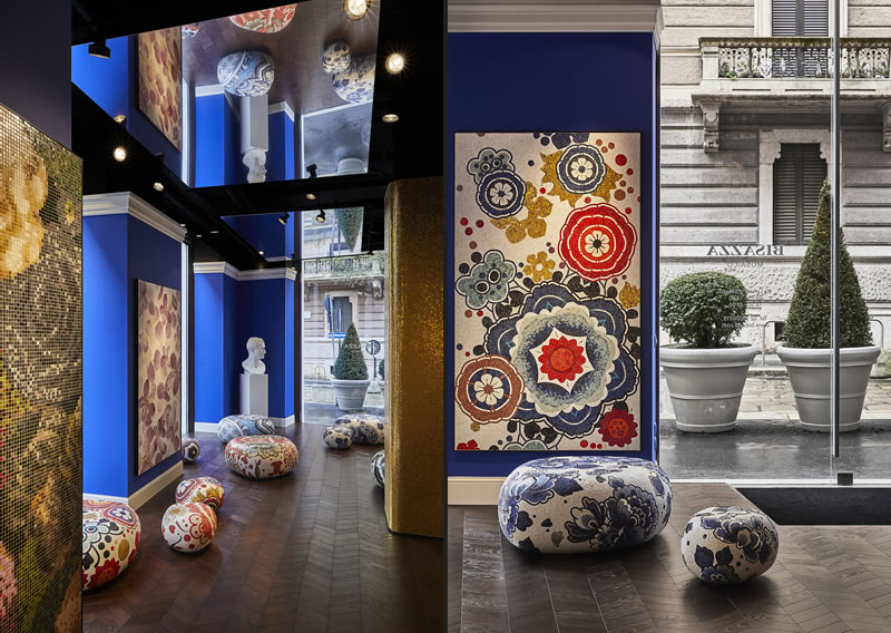 Bisazza new Milan flagship store