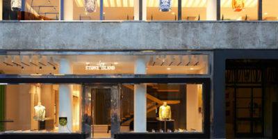 Flagship Store STONE ISLAND Milano.