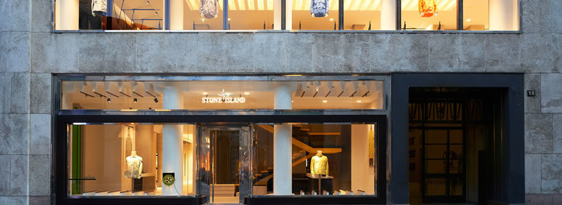 Stone Island opens new flagship store in Milan.
