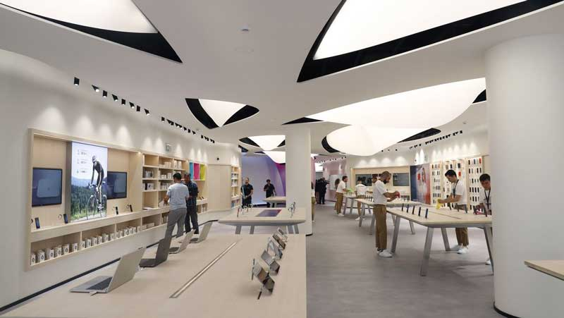 Huawei flagship store Madrid