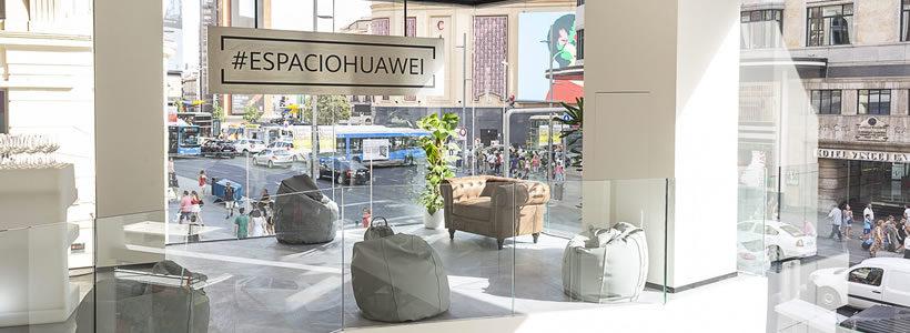 Huawei apre a Madrid il suo più grande flagship store europeo.