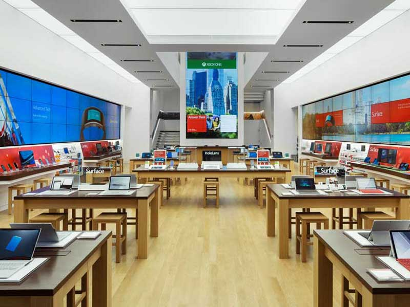 Microsoft store Londra Oxford Circus