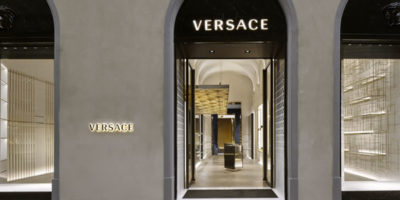 """VERSACE Flagship Store, Florence. """"Curated Palazzo"""""""