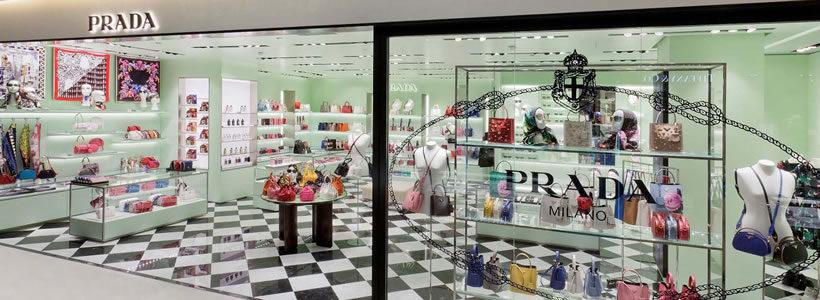 PRADA opens a new store in Paris.