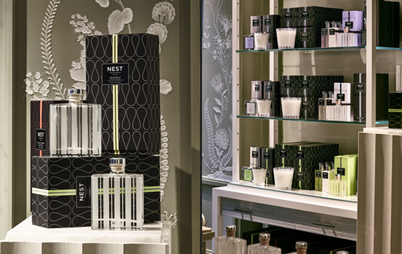 NEST Fragrances New York store interior design R. Douglas Gellenbeck Studio