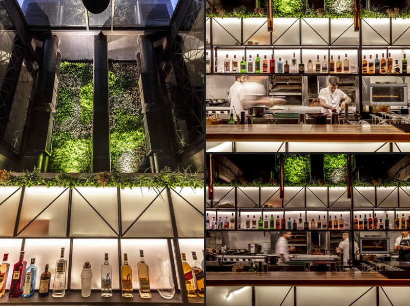 Hitzig Militello Architects designed the Mamba Bar Buenos Aires