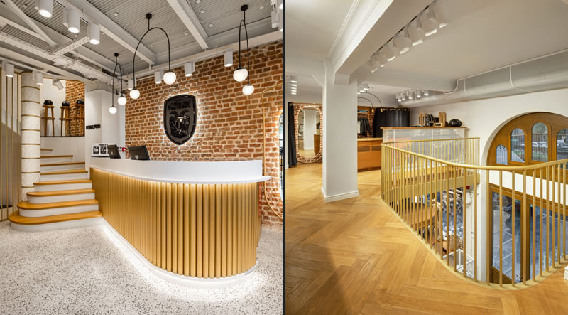 Urban Soul Project designed Paok Fc City Store