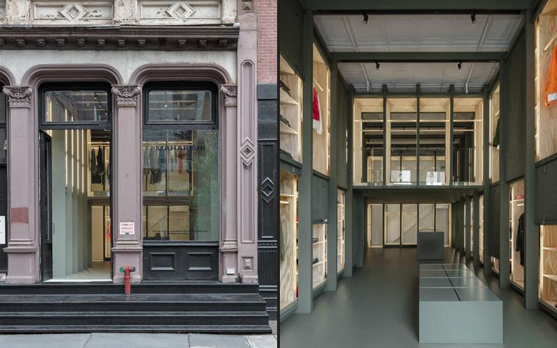 Abruzzo Bodziak Architects have designed British clothing brand maharishi's first store