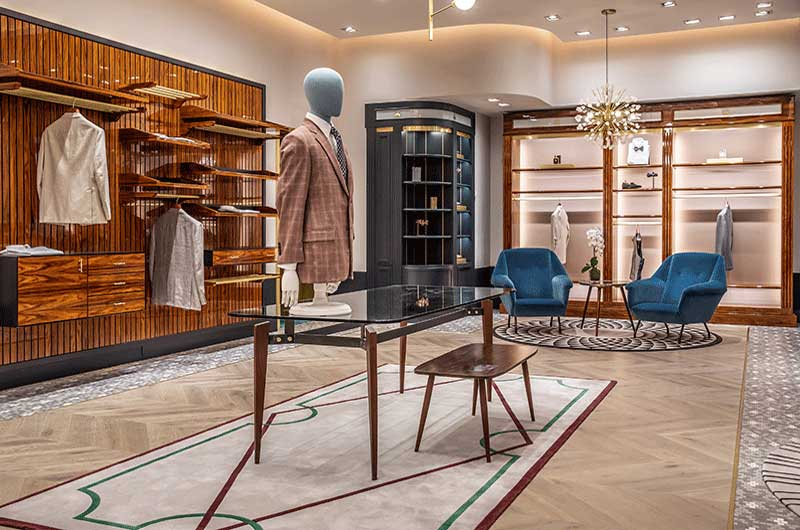 ST DESIGN BROOKS BROTHERS STORE