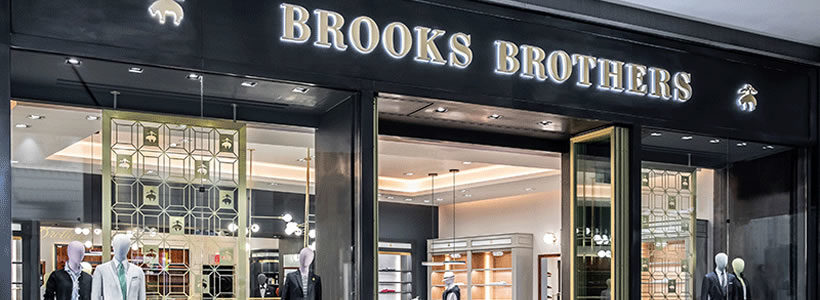 Brooks Brothers: ST Design signs the new interior design concept.