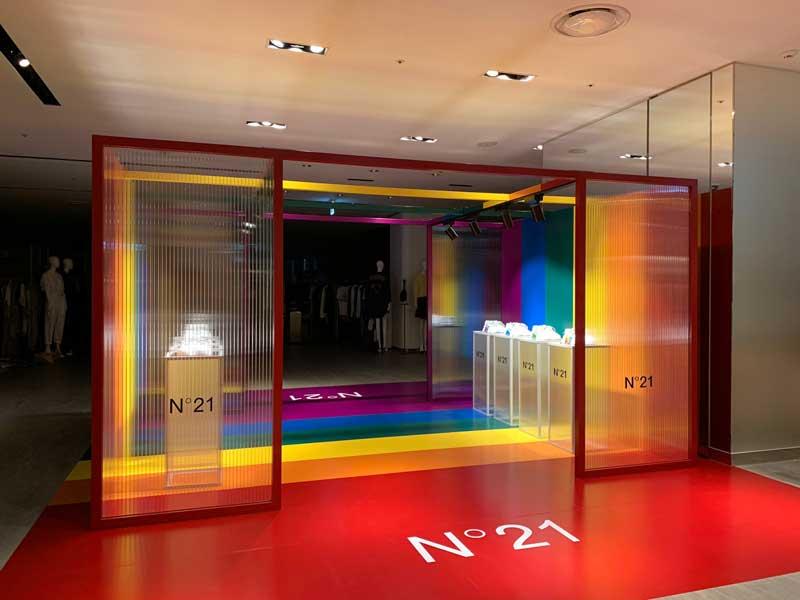 N21 pop-up store Seoul