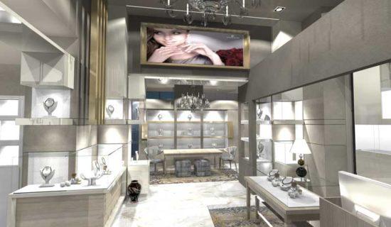 Gioiellerie by A4 Design & Contract, un perfetto connubio tra progettazione e produzione.