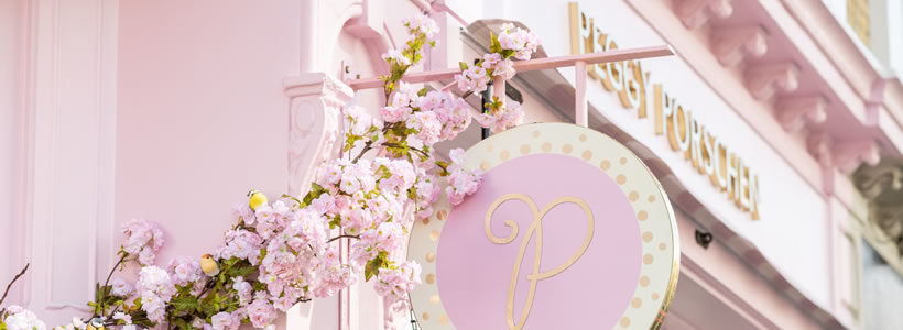 Kinnersley Kent Design creates  flagship Parlour concept for cake brand Peggy Porschen