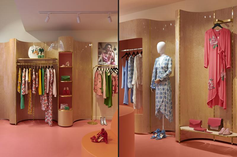 S-p-a-c-e Projects  Fabienne Chapot store concept