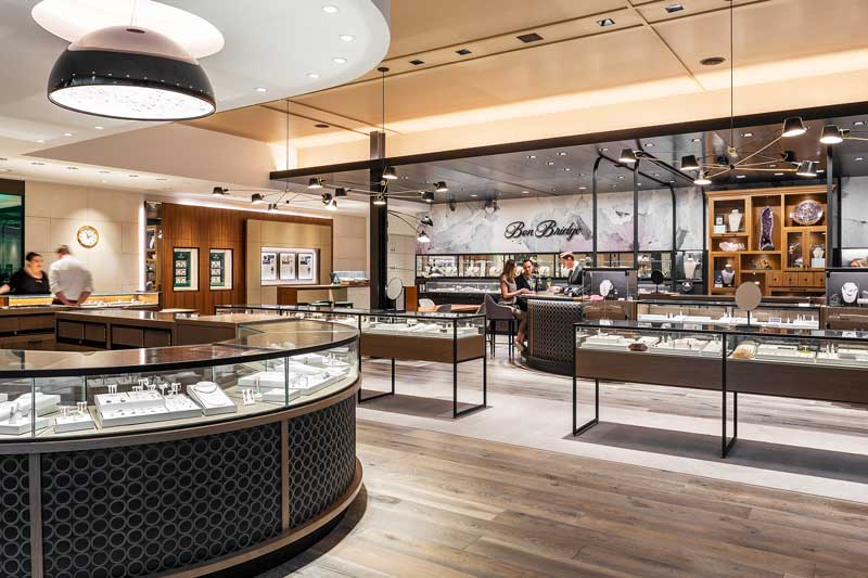 The Ben Bridge Jewelers concept store by SkB Architects