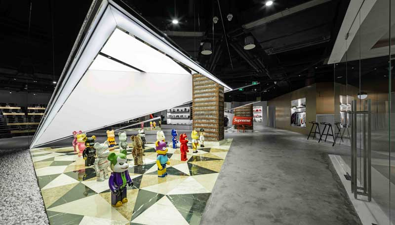 Spacemen Studio experiential space BY Shanghai