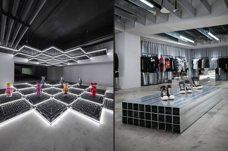 Spacemen Studio progetto By Store Shanghai
