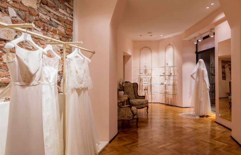 Atelier Albertini is a Concept Store entirely for future brides