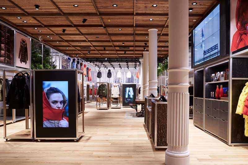 flagship store WOOLRICH New York