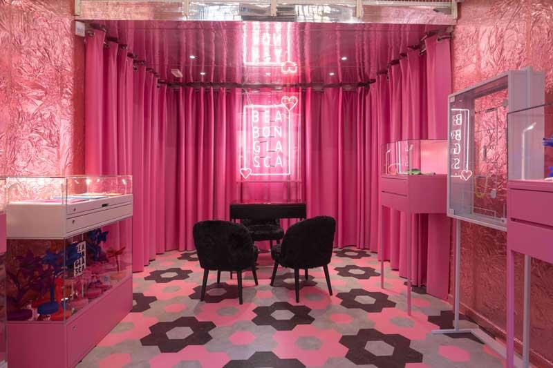 Bea Bongiasca boutique monomarca Milano