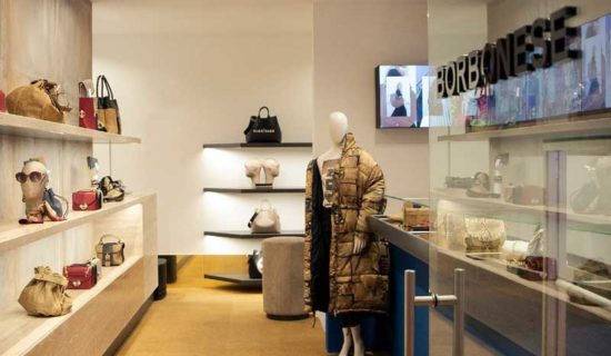 BORBONESE:  nuovo flagship store a Bologna.