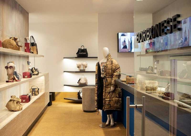 Borbonese flagship store Bologna