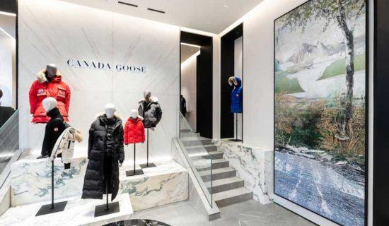CANADA GOOSE: a Milano la prima boutique in Italia.